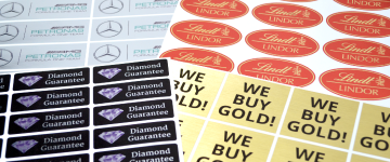 Metallic Stickers | www.stickersinternational.nl